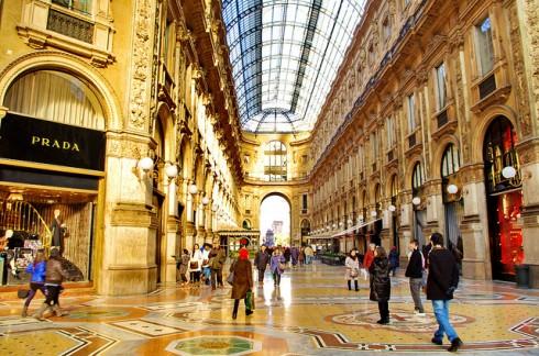 Địa điểm du lịch tại Fashion Quadrangle (Milan, Ý)