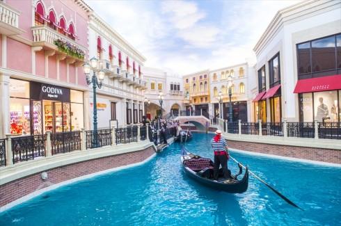 Địa điểm du lịch tại Grand Canal Shoppes (Las Vegas, Mỹ)