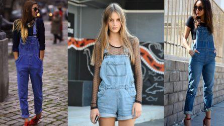 9 gợi ý phối đồ với quần yếm jean