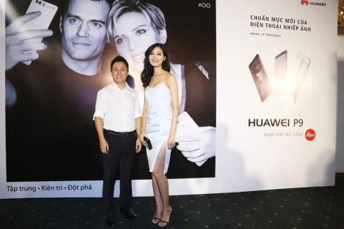 Hoa Hậu Thùy Dương & CEO của thương hiệu Huawei Việt Nam