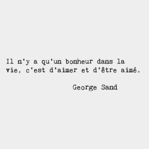 Danh ngôn tình yêu lãng mạn của George Sand