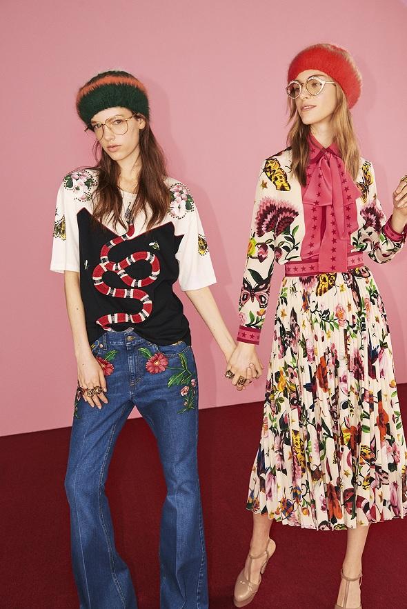 Gucci ra mắt bộ sưu tập thời trang Gucci Garden