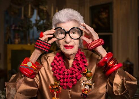 Biểu tượng thời trang Iris Apfel