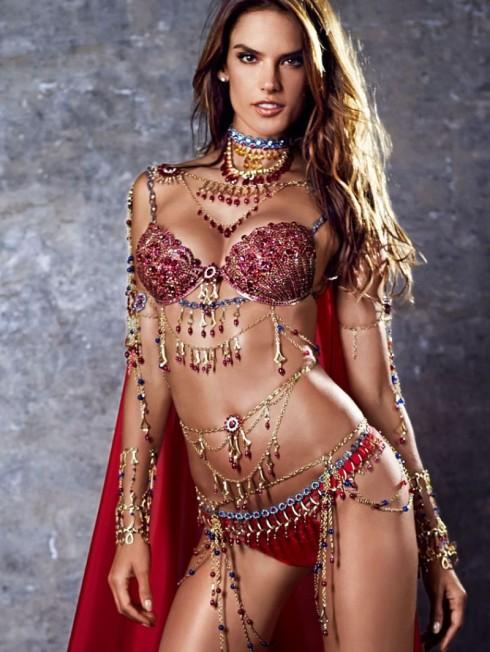 Người mẫu Victoria's Secret Alessandra Ambrosio