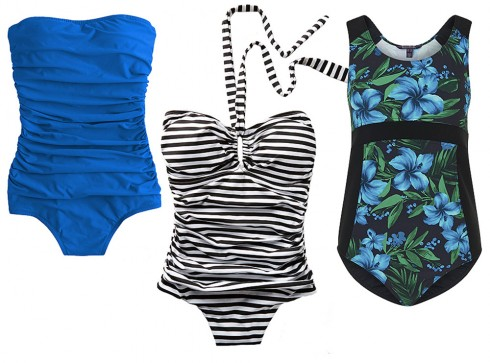 Thời trang bikini một mảnh cho chiều cao quá khổ
