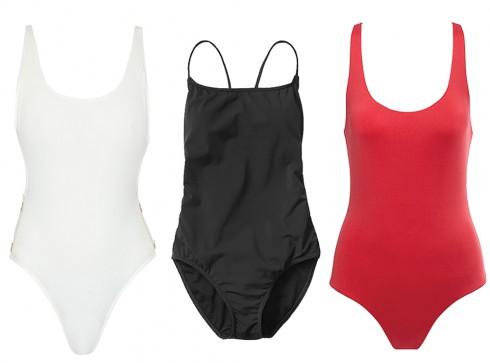 Thời trang bikini một mảnh nếu không muốn cháy nắng