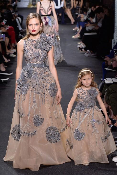 Thiết kế mẹ và bé trong BST của Elie Saab