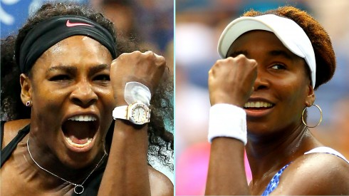Venus và Serena Williams - là đối thủ trên sân đấu