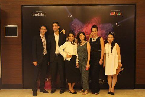 Đại diện ban tổ chức và đại diện các hãng mỹ phẩm tại sự kiện.