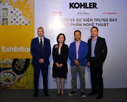 Kohler Việt Nam tổ chức sự kiện trưng bày tác phẩm nghệ thuật-2