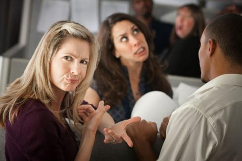 Giữa phụ nữ với nhau cũng có những mâu thuẫn