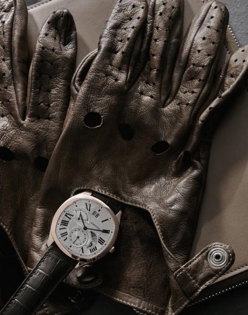 Đồng hồ nam Drive de Cartier - Mạnh mẽ lịch lãm - ảnh 2
