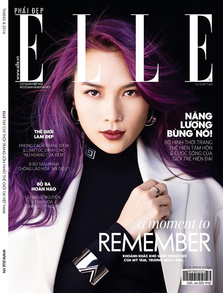 Tạp chí Phái Đẹp ELLE số tháng 8/2016