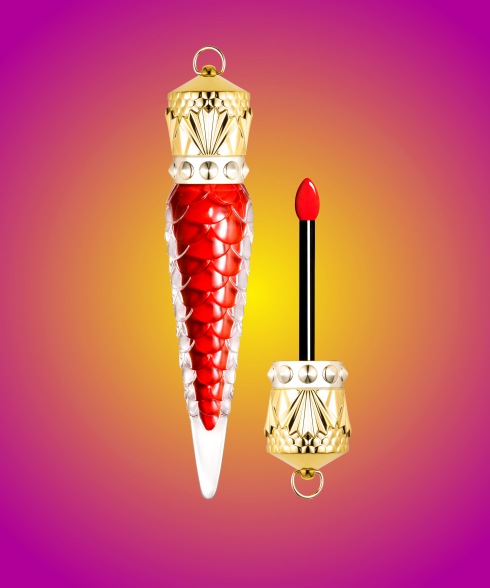 Son Christian Louboutin mới Loubilaque Lip Lacquer
