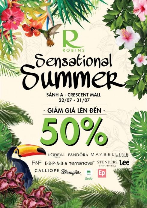 Chương trình khuyến mãi Sensational Summer Sale tại Crescent Mall-1