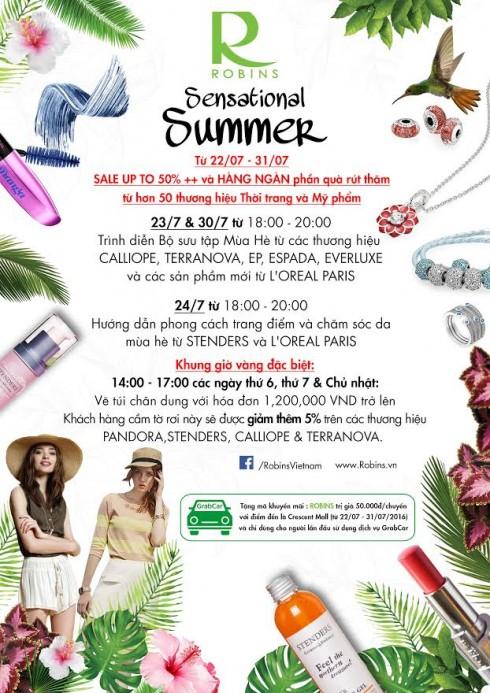 Chương trình khuyến mãi Sensational Summer Sale tại Crescent Mall-2