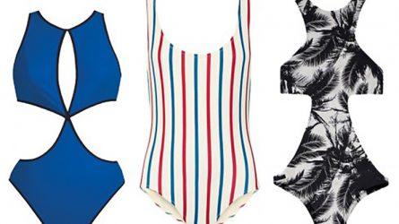 Thời trang bikini một mảnh theo dáng người