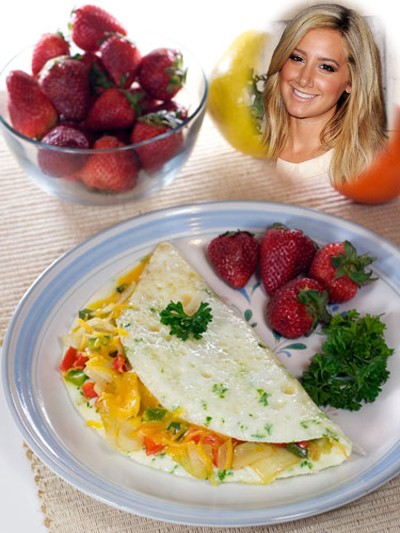 Ashley Tisdale chia sẻ bữa ăn sáng lành mạnh
