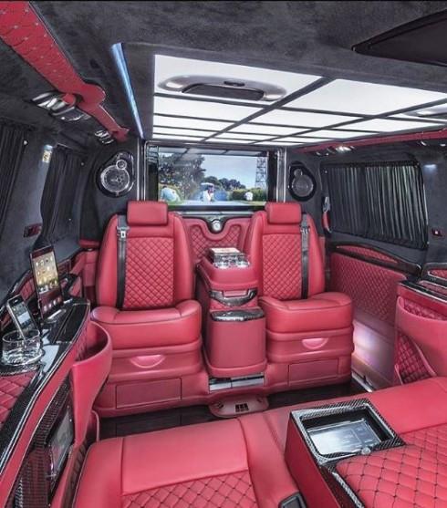 nội thất bên trong xe hơi sang trọng bật nhất