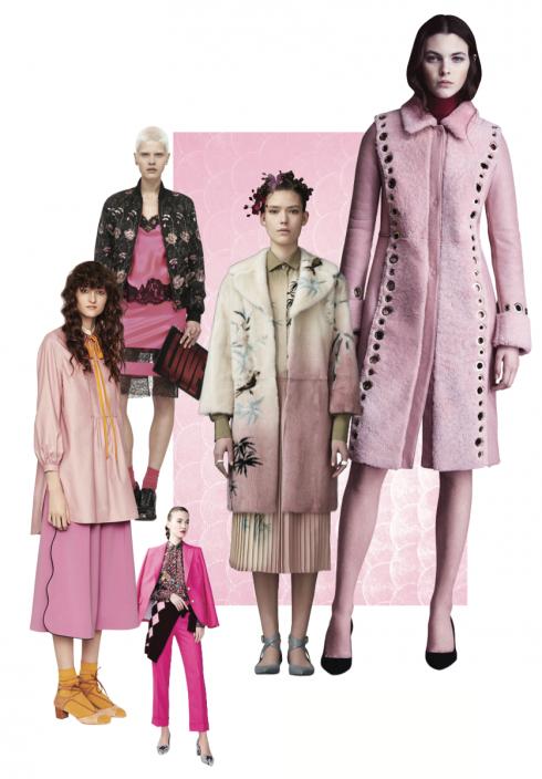 Xu hướng thời trang thu đông 2016: 50 sắc thái hồng