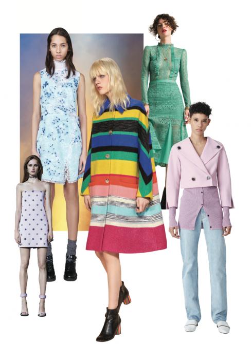 Xu hướng thời trang thu đông 2016: Rực rỡ sắc màu