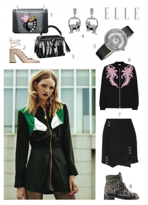 Xu hướng áo khoác nữ Thu Đông 2016 chiếc đầm sporty chic