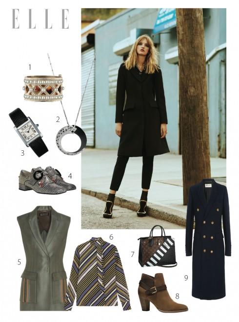 Xu hướng áo khoác nữ  Thu Đông 2016  theo phong cách quân đội