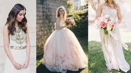 Hơn 30 mẫu váy cưới đẹp dành cho cô dâu cá tính