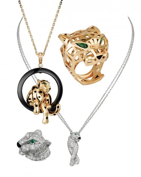 Những món nữ trang trong BST Panthère de Cartier chứa đựng vẻ đẹp mạnh mẽ và đầy uyển chuyển của loài báo, trở thành di sản không thể tách rời mà Jeanne Toussaint đã để lại cho Cartier.