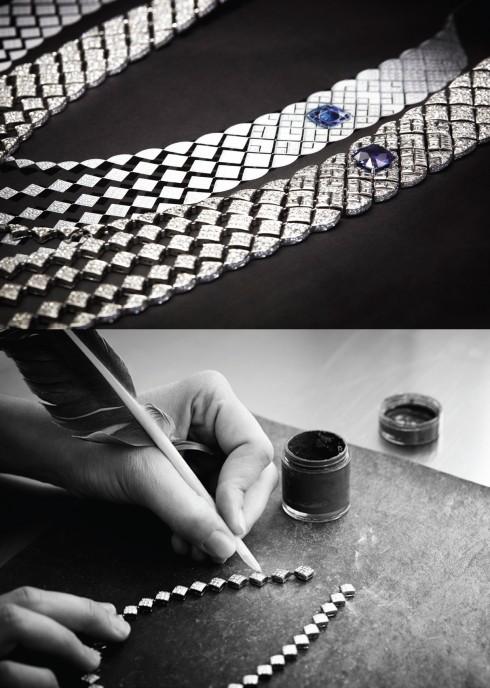 BST Signature de Chanel lấy cảm hứng từ họa tiết bông chần, một biểu tượng quen thuộc của nhà Chanel gắn liền với chiếc túi nổi tiếng 2.55.