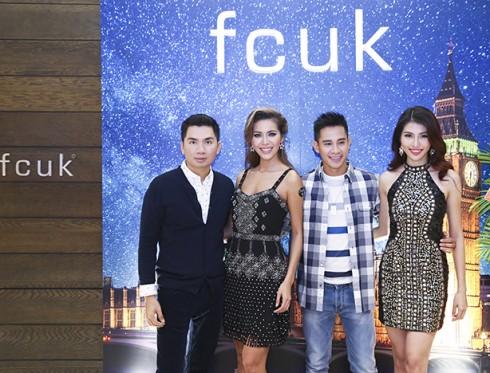 Giám đốc sáng tạo Nguyễn Hoàng Anh, Minh Tú, Hồ Vĩnh Khoa và Chế Nguyễn Quỳnh Châu đều chọn trang phục fcuk