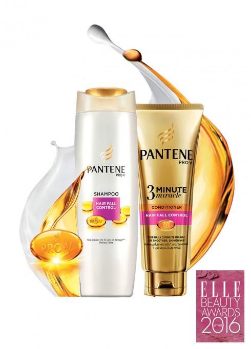 <strong>5. PANTENE PRO-V DƯỠNG CHẤT NGĂN RỤNG TÓC</strong><br/>Pantene Pro-V Dưỡng chất ngăn rụng tóc được tăng cường công nghệ Chinon hiện đại giúp bảo vệ cả bên trong lẫn ngoài sợi tóc. Ngoài ra, với dưỡng chất Pro-V ưu việt thấm sâu và phục hồi hư tổn từ bên trong lõi tóc, cho bạn mái tóc chắc khỏe và óng mượt hơn từ trong ra ngoài và chấm dứt nỗi lo rụng tóc.