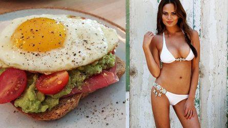 5 bữa ăn sáng lành mạnh yêu thích của sao
