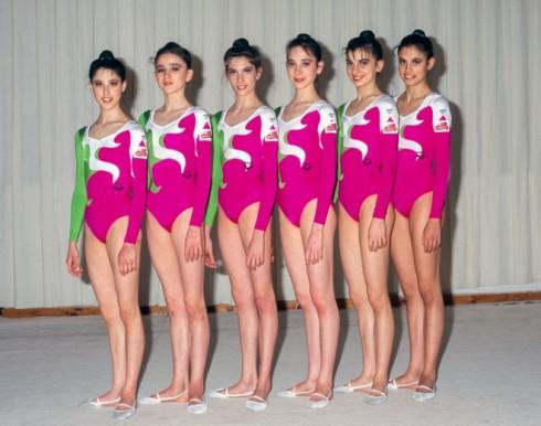 Trang phục thi đấu của các vận động viên thể dục dụng cụ