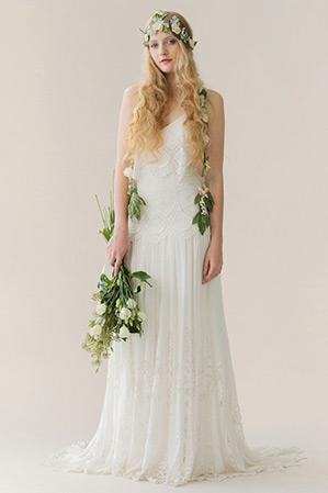 Tổ chức tiệc cưới theo phong cách bohemian - váy cưới