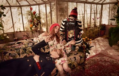 BST chớm Thu 2016 – Khu vườn nhuốm màu hoài niệm của Gucci