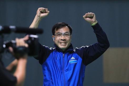 Hoàng Xuân Vinh tạo nên bước tiến lịch sử cho đoàn Thể thao Việt Nam tại Olympics.