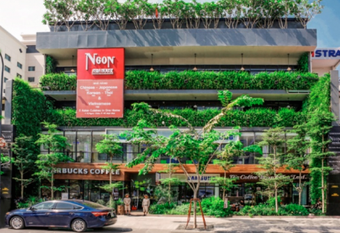 Ở đâu phiên chợ cuối tuần ngắm nhìn Sài Gòn từ trên cao?