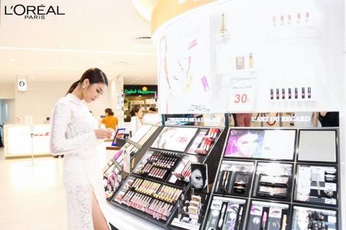 L'oreal khai trương cửa hàng mới tại TTTM Takashimaya Sài Gòn