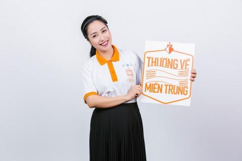 """Ốc Thanh Vân tham gia chương trình """" Thương về Miền Trung"""""""