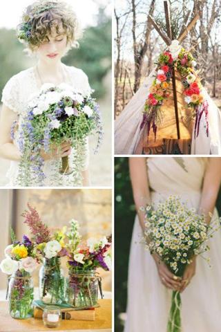 6 bí quyết tổ chức tiệc cưới theo phong cách Bohemian