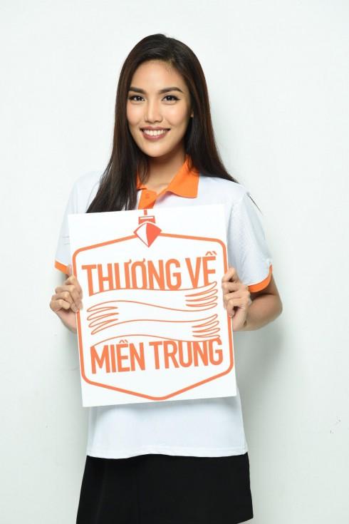 """HLV The Face Lan Khuê sẽ tham gia chuyến xe """"Thương về Miền Trung"""" vào ngày 15/8 sắp tới tại Hà Tĩnh"""