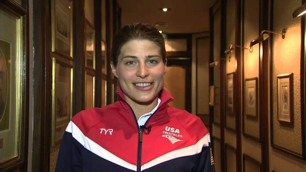 Nữ vận động viên Sarah Groff