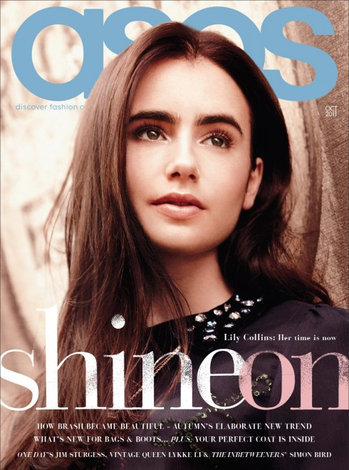 Thời trang online ASOS - Lily Collins