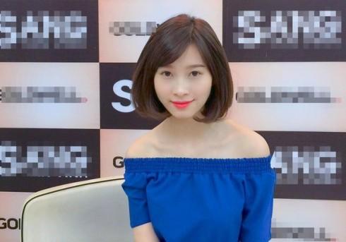 Kiểu tóc ngắn sấy phồng Hoa hậu Đặng Thu Thảo