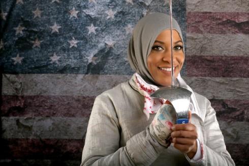 5 nữ vận động viên 'fashionista' tại Olympic 2016 - Ibtihaj Muhammad