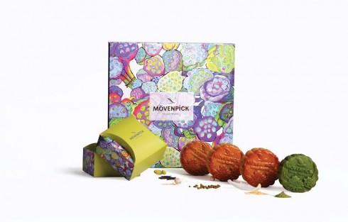 """Thiết kế hộp lấy cảm hứng từ bức tranh """"Đài sen rực nở"""" của họa sĩ đương đại người Úc Chrissy Foreman Cranitch"""
