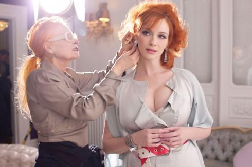 CHRISTINA HENDRICKS và Vivienne Westwood Photoshoot