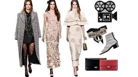 Bộ sưu tập Chanel - Cảm hứng từ màn bạc đến sàn diễn