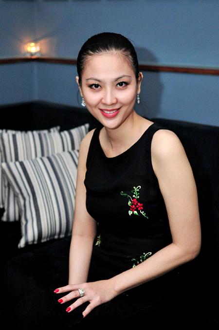 Phan Thu Ngân năm 2015